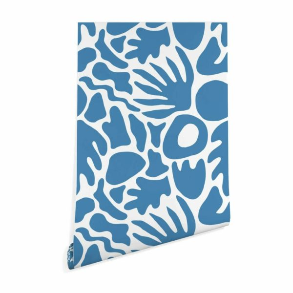 abstract shape peel stick wallpaper