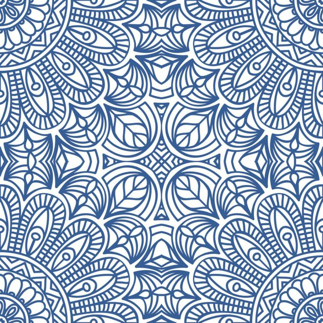Peel and stick Moroccan style wallpaper