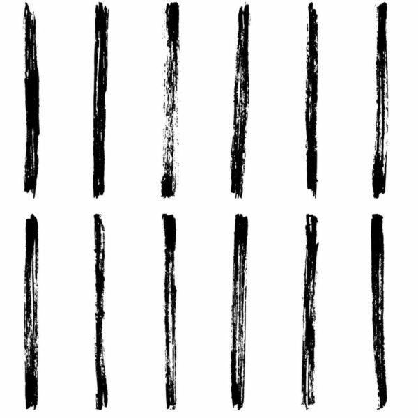Peel and stick brush stroke wallpaper
