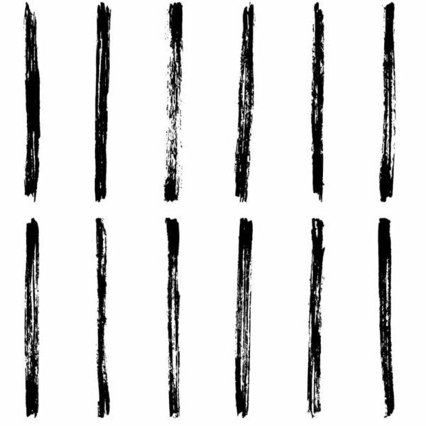 Vertical brush stroke wallpaper