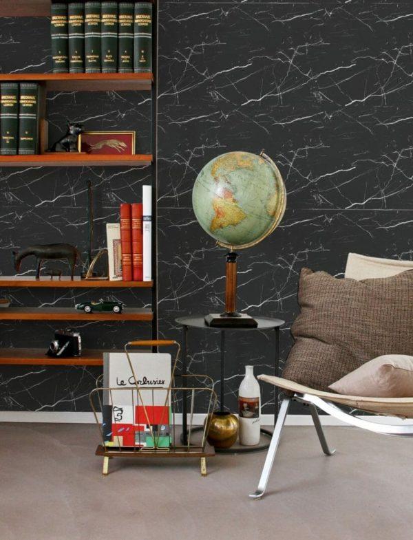 Self-adhesive marble wallpaper