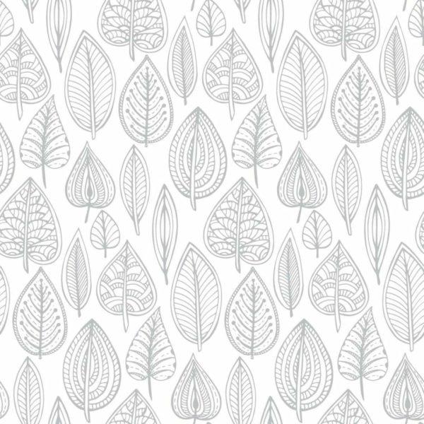 granite color hand drawn leaf pattern self-adhesive wallpaper