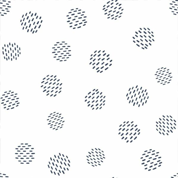 Black and white dots wallpaper