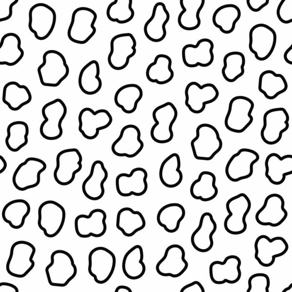 black and white patch peel and stick wallpaper