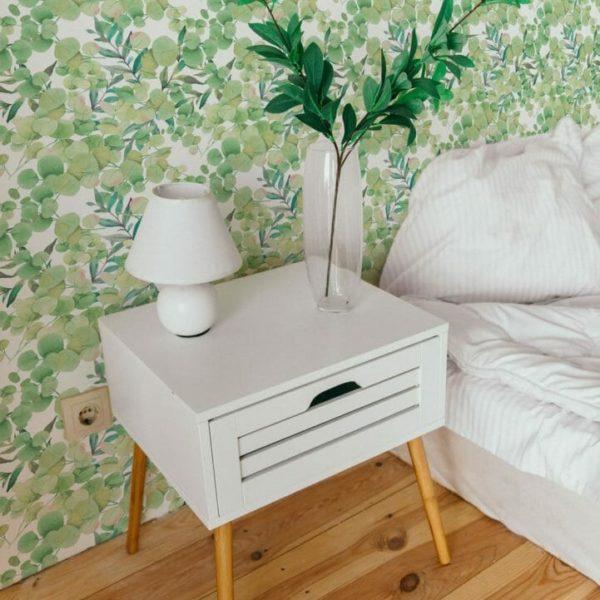 Green eucalyptus design pattern