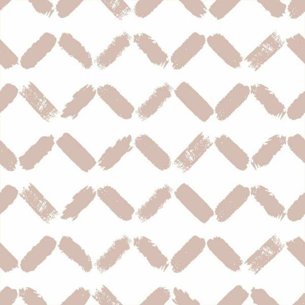 Peel and stick chevron pastel color wallpaper