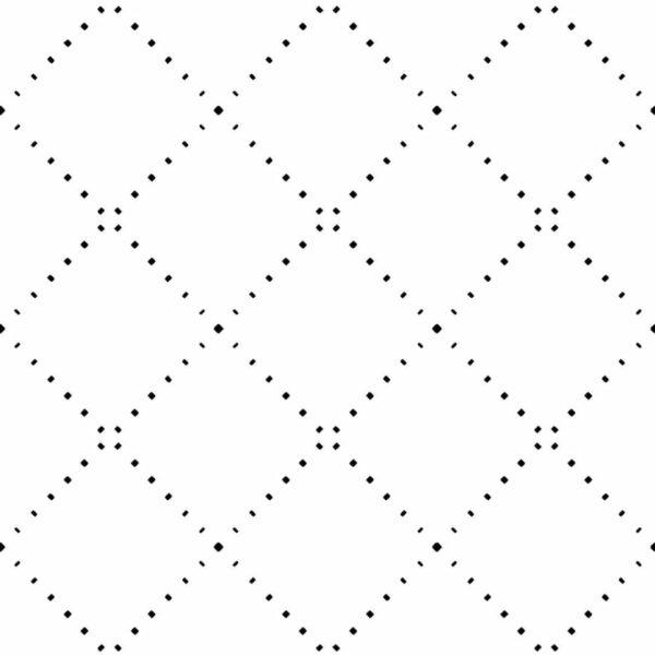 Peel and stick geometric diamond wallpaper