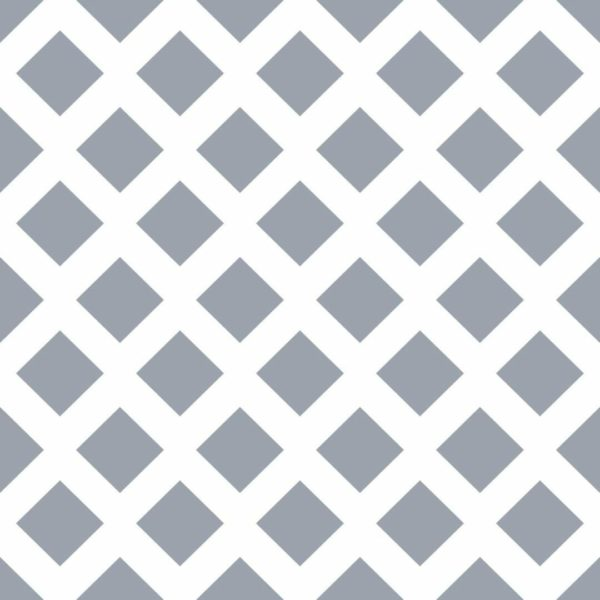 Peel and stick geometric rhombus wallpaper