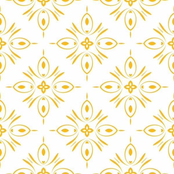 Peel and stick geometric shapes wallpaper