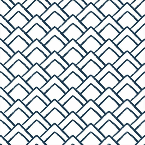 Peel and stick geometric triangle wallpaper