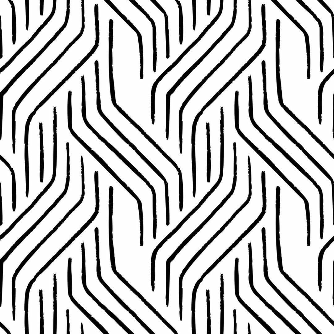 Peel and stick seamless line wallpaper