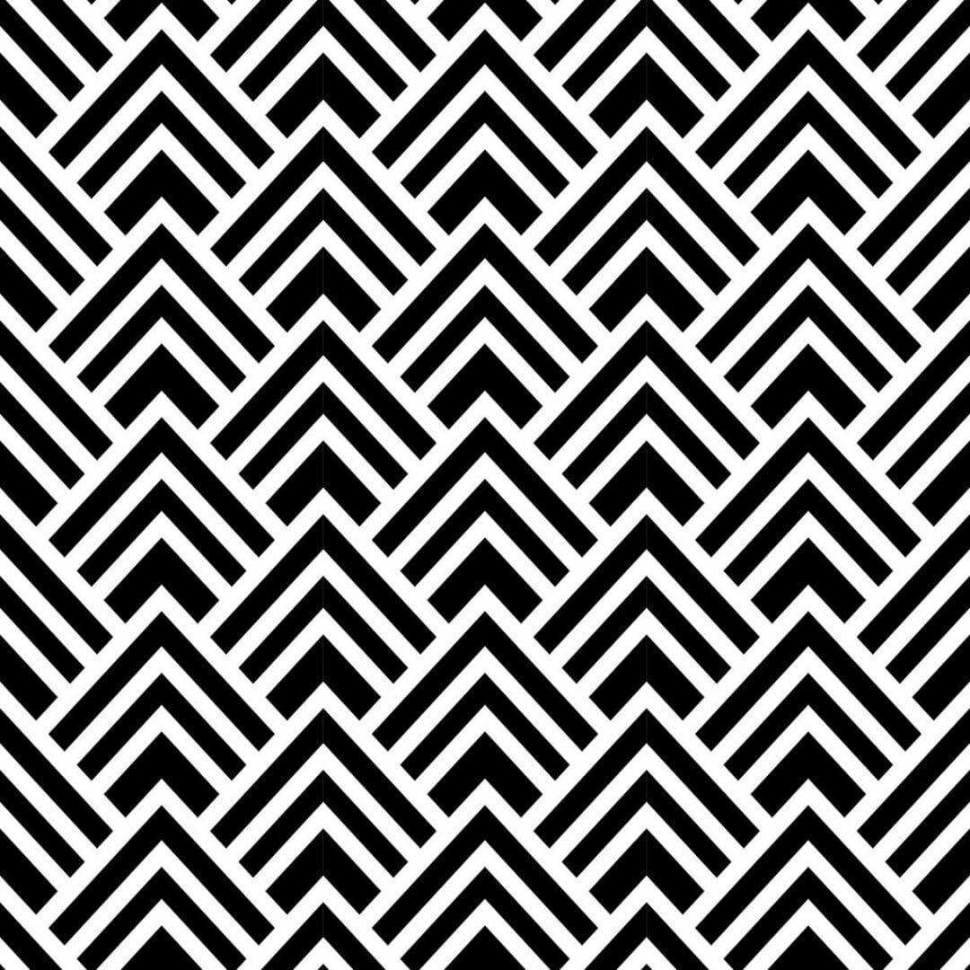 Peel and stick spruce geometric wallpaper