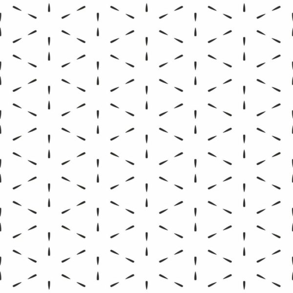 Black and white geometric lines removable wallpaper