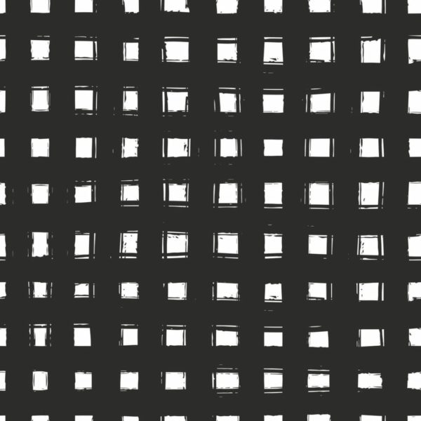 Peel and stick grid wallpaper