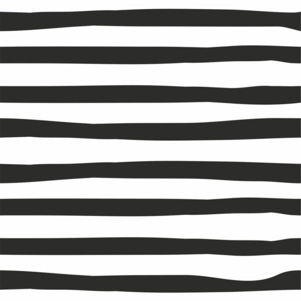 Peel and stick horizontal brush stroke wallpaper