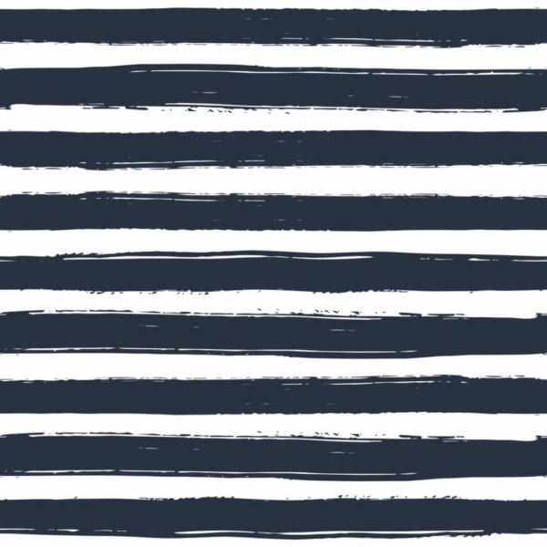 Peel and stick horizontal stripes wallpaper