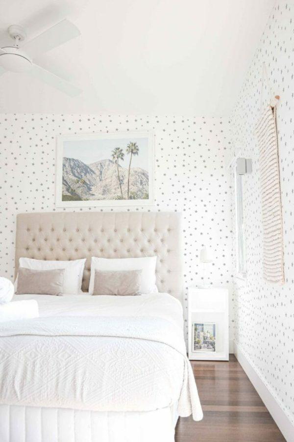 Self-adhesive stars wallpaper