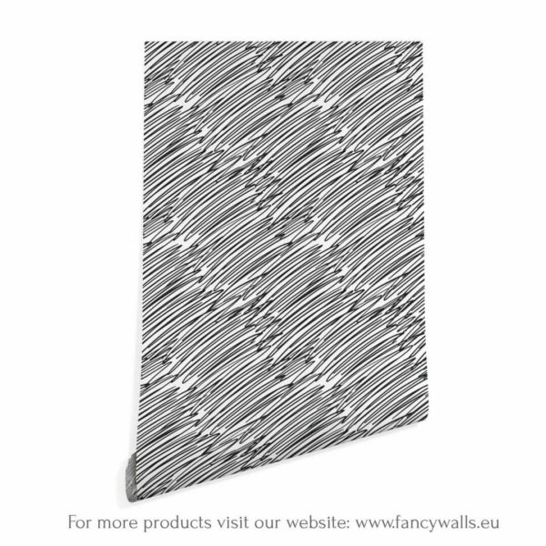 Black and white grunge scratches wallpaper rolls