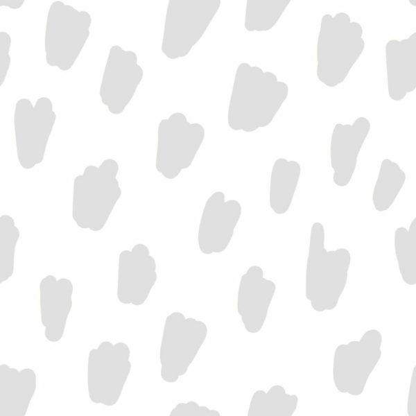 Peel and stick brush spots wallpaper