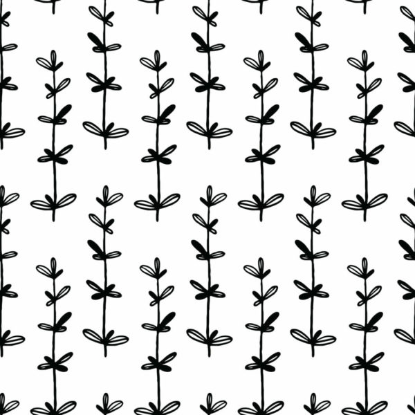 black and whitefloral peel and stick wallpaper