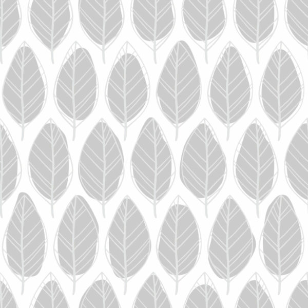 gray and white floral peel and stick wallpaper