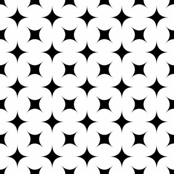black and white star self-adhesive wallpaper