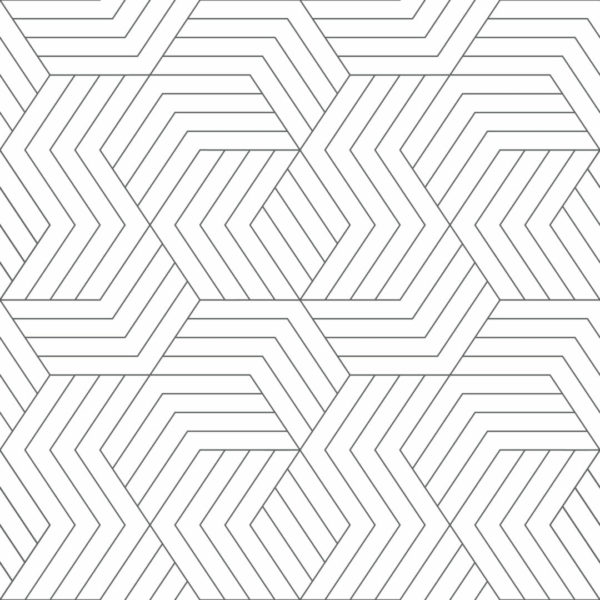 gray and white abstract geometric self-adhesive wallpaper