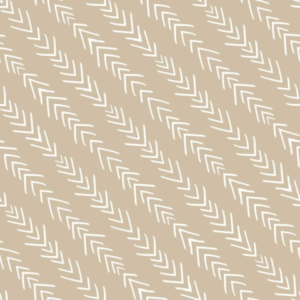 beige and white diagonal arrow peel and stick wallpaper