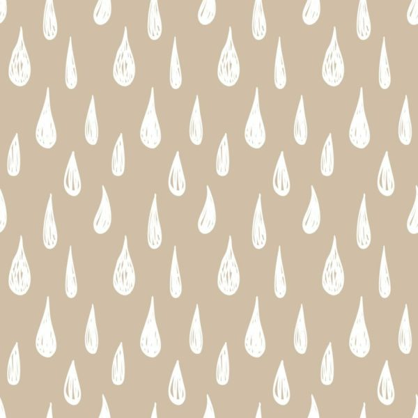 beige and white teardrop peel and stick wallpaper