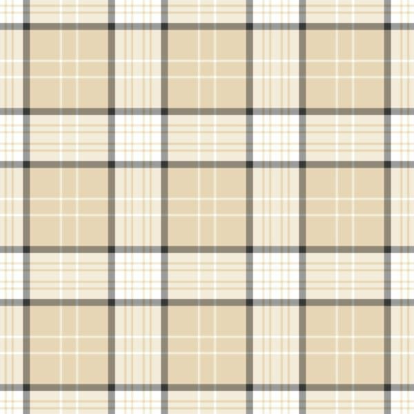 beige plaid peel and stick wallpaper
