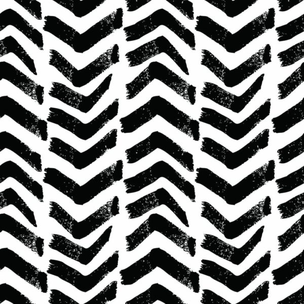 black and white arrow peel and stick wallpaper