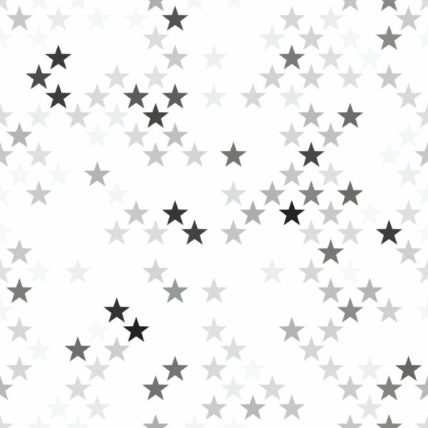 gray and white star peel and stick wallpaper