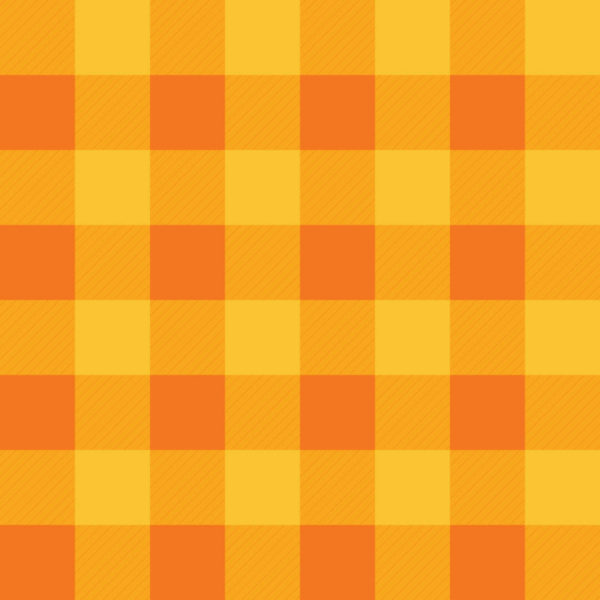 orange and yellow gingham peel and stick wallpaper