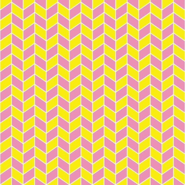 pink and yellow chevron peel and stick wallpaper