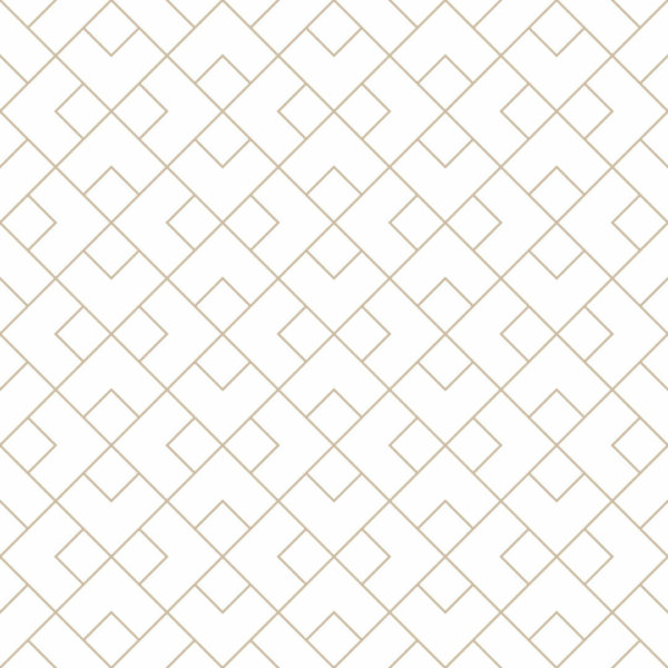 beige and white geometric square peel and stick wallpaper