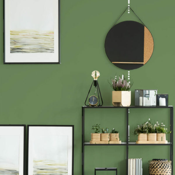 grass green solid peel and stick wallpaper