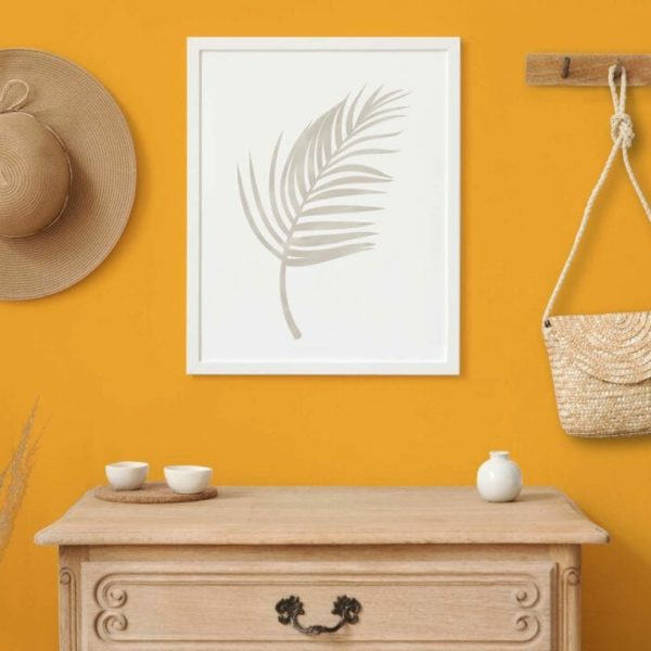 orange solid peel and stick wallpaper