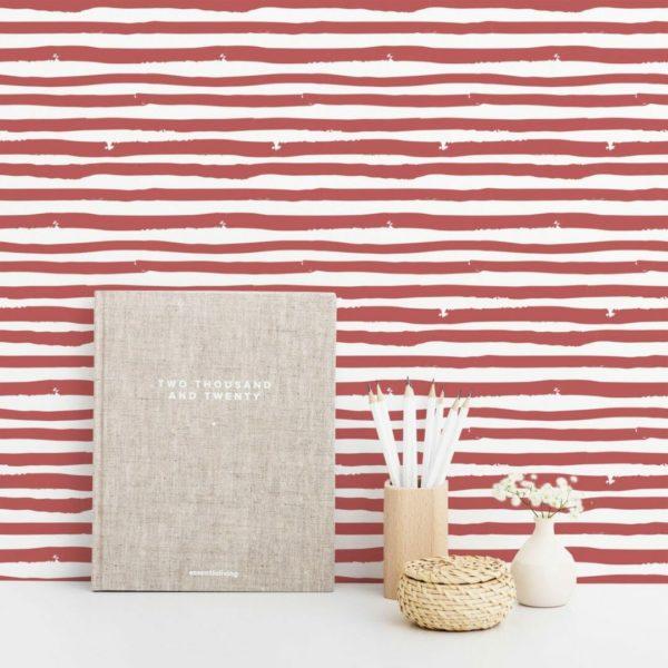 striped peel & stick