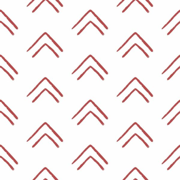 red chevron up removable wallpaper