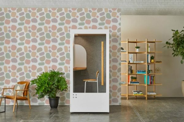 removable pink wallpaper