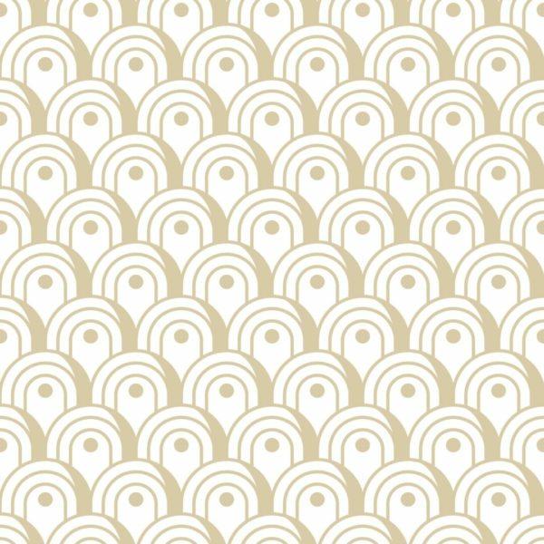 brown art deco design pattern