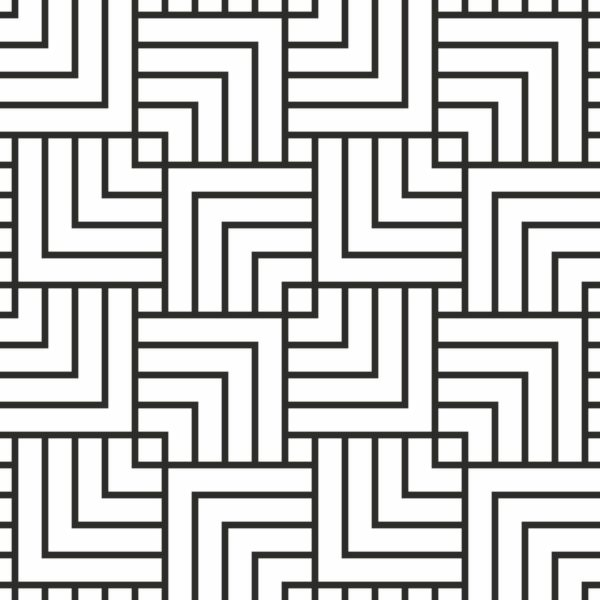 black geometric stripe design pattern