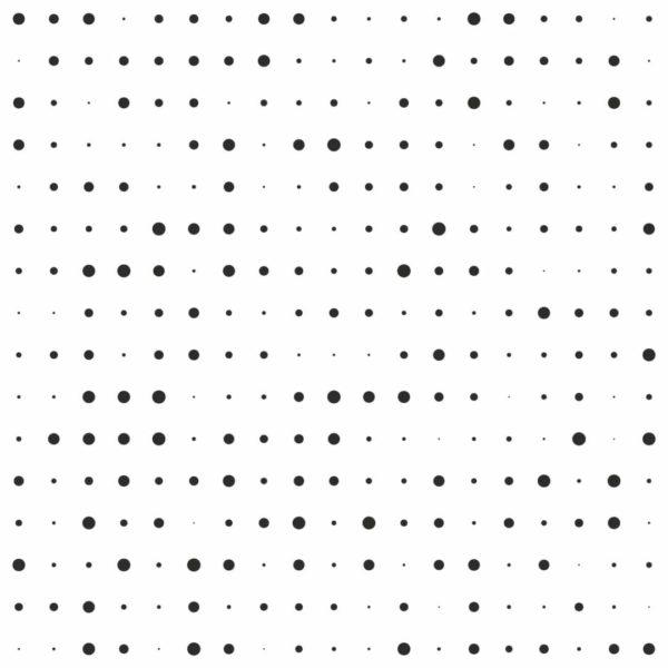 black halftone design pattern