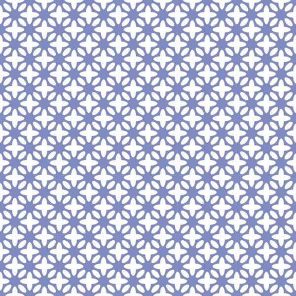 blue floral self-adhesive wallpaper pattern