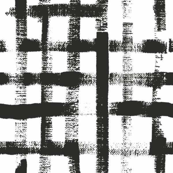 black square brush stroke design pattern