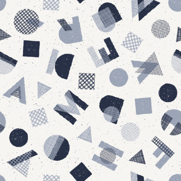 blue and gray abstract letter wallpaper peel and stick