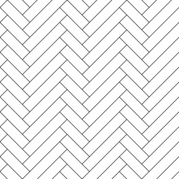 black and white asymmetric herringbone wallpaper peel and stick