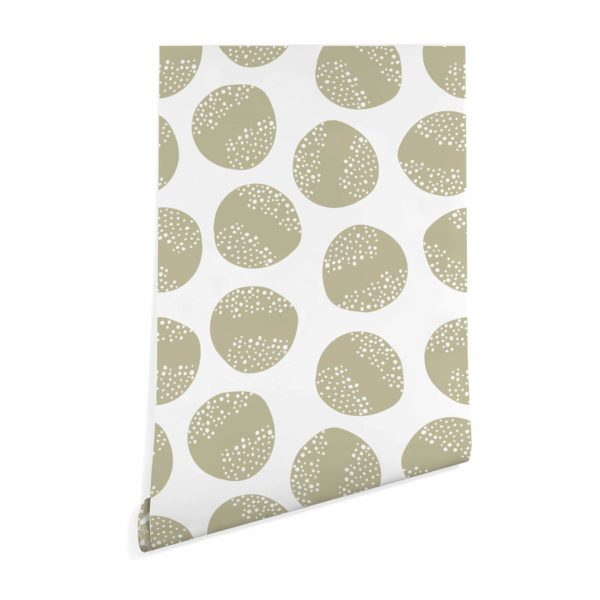 beige circle wallpaper peel and stick