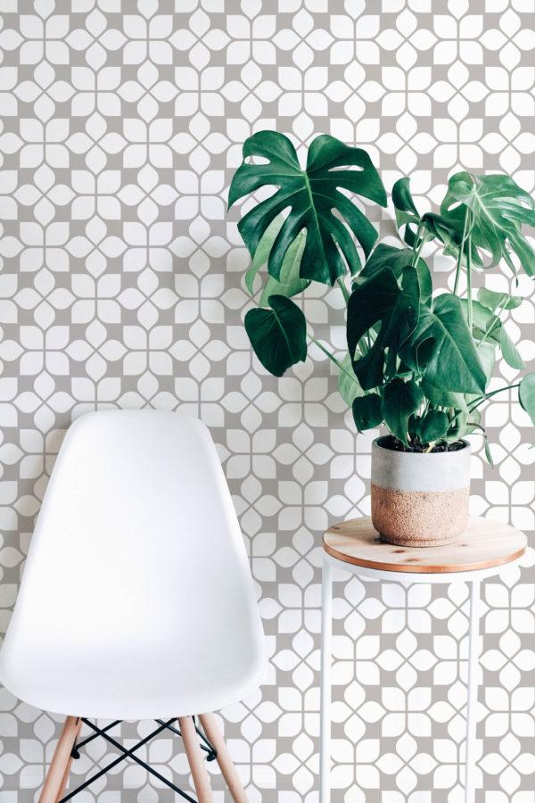 oriental tile peel & stick
