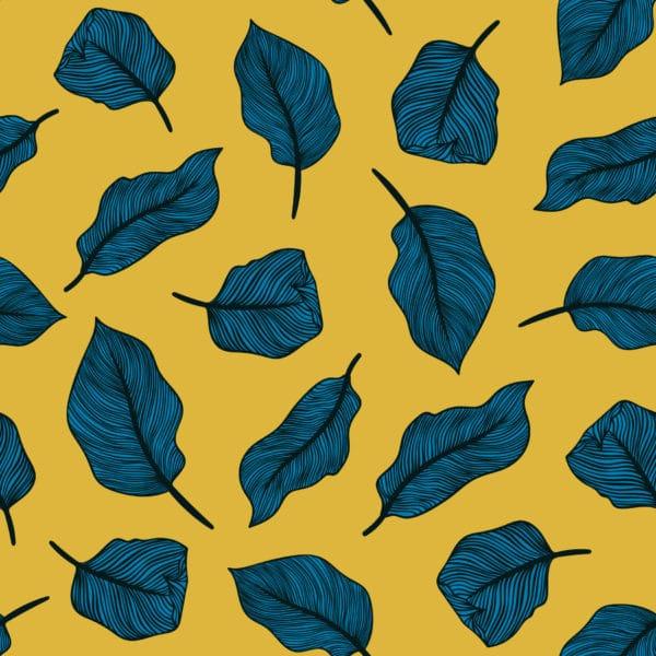 bold leaf peel & stick